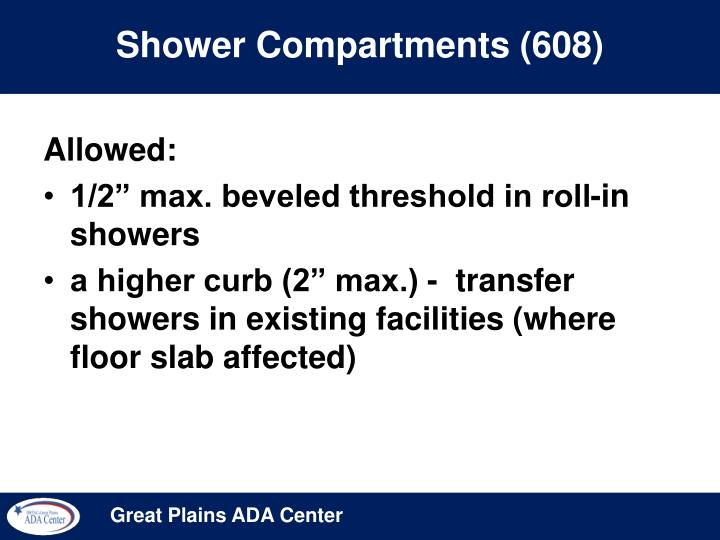 Shower Compartments (608)