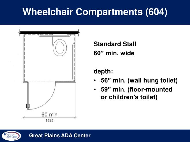 Wheelchair Compartments (604)