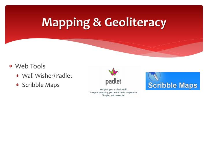 Mapping & Geoliteracy