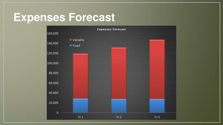 Expenses Forecast