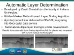 automatic layer determination