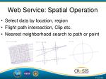 web service spatial operation