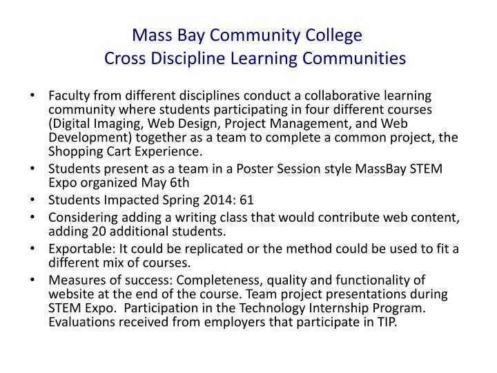 Mass Bay Community College