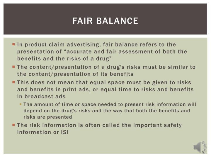 Fair Balance