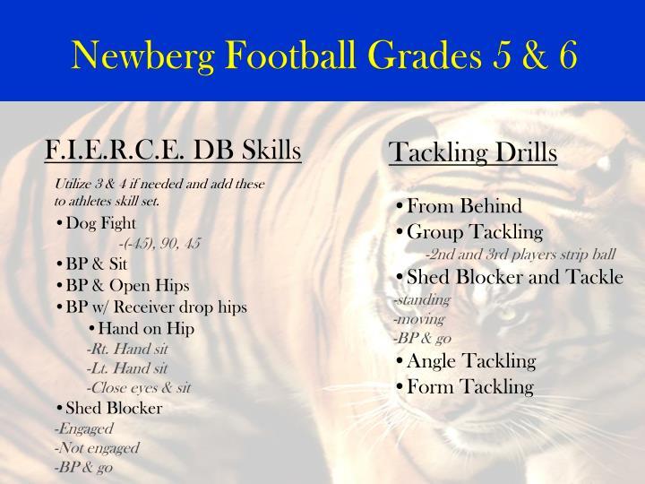 Newberg Football Grades 5 & 6