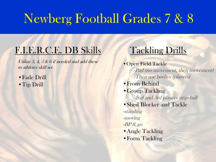 Newberg Football Grades 7 & 8