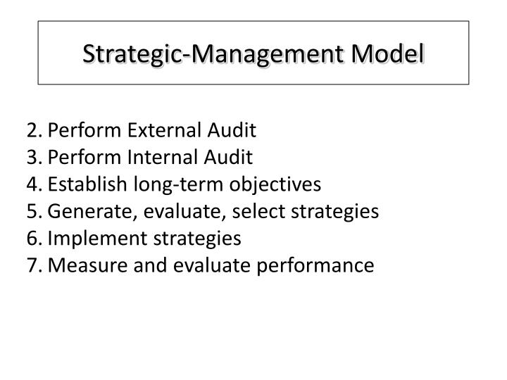 Strategic-Management Model