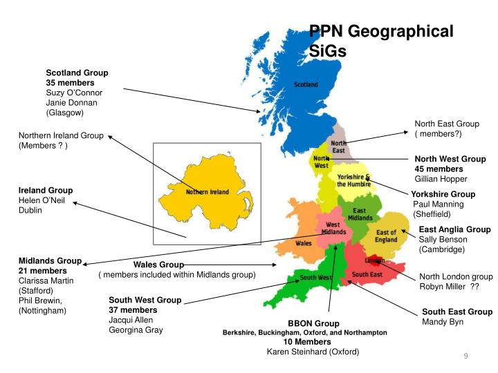 PPN Geographical SiGs