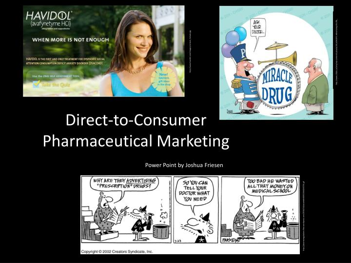 direct to consumer pharmaceutical marketing