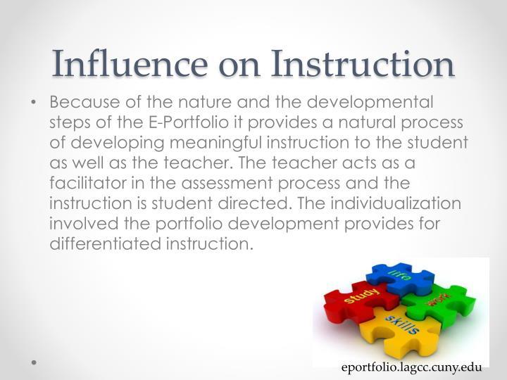 Influence on Instruction