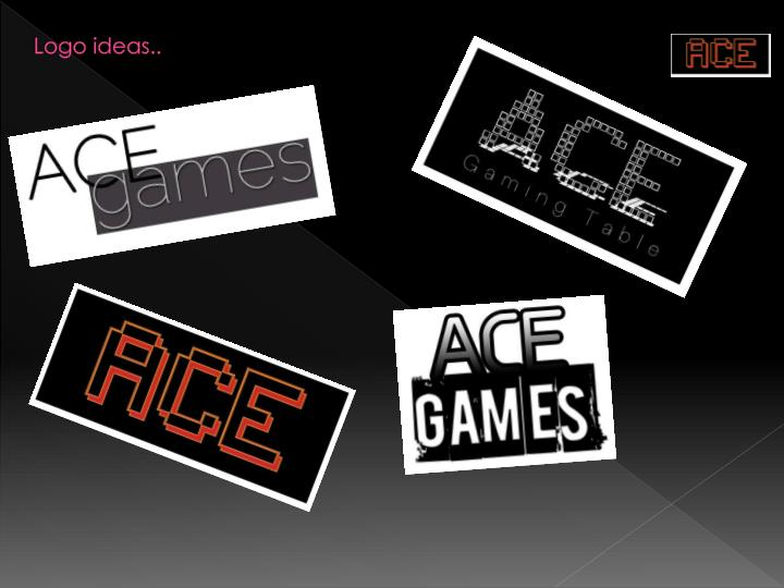 Logo ideas..