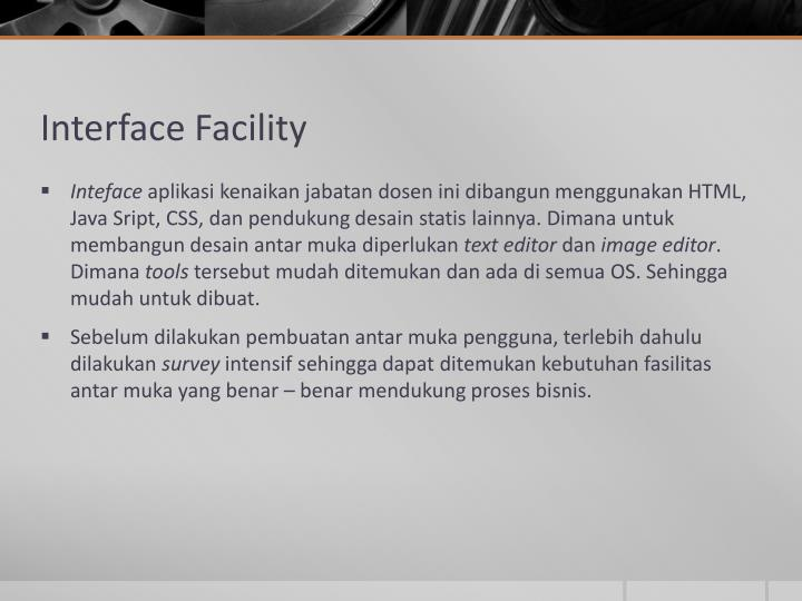 Interface Facility