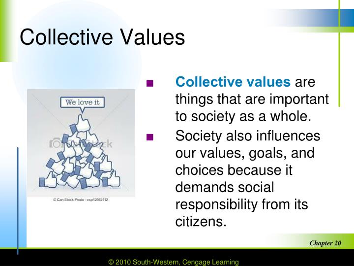 Collective Values