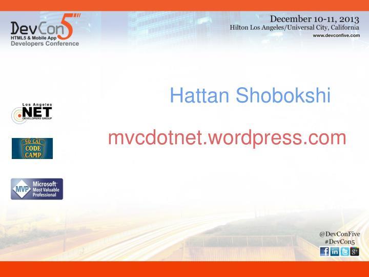Hattan Shobokshi