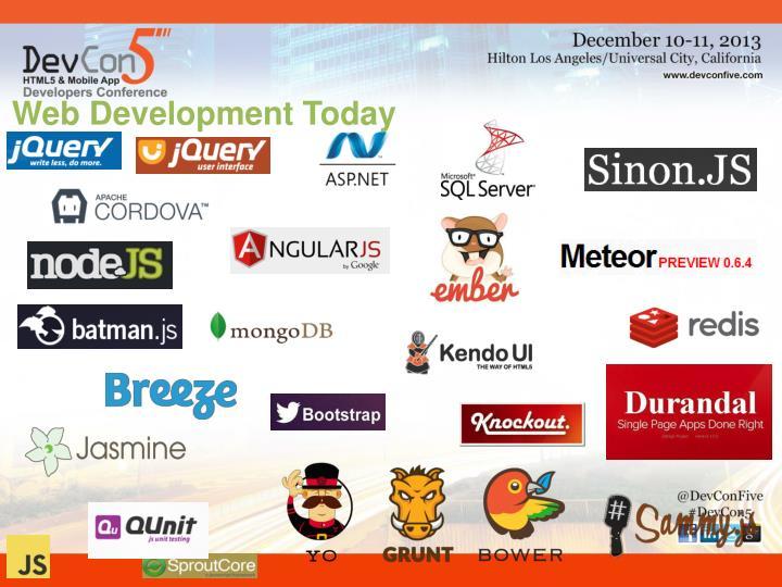 Web Development Today