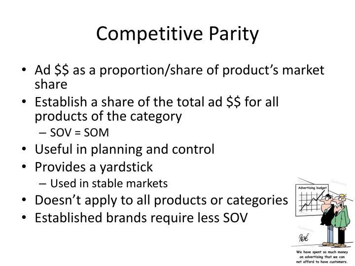 Competitive Parity