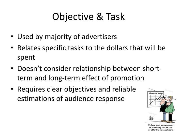 Objective & Task