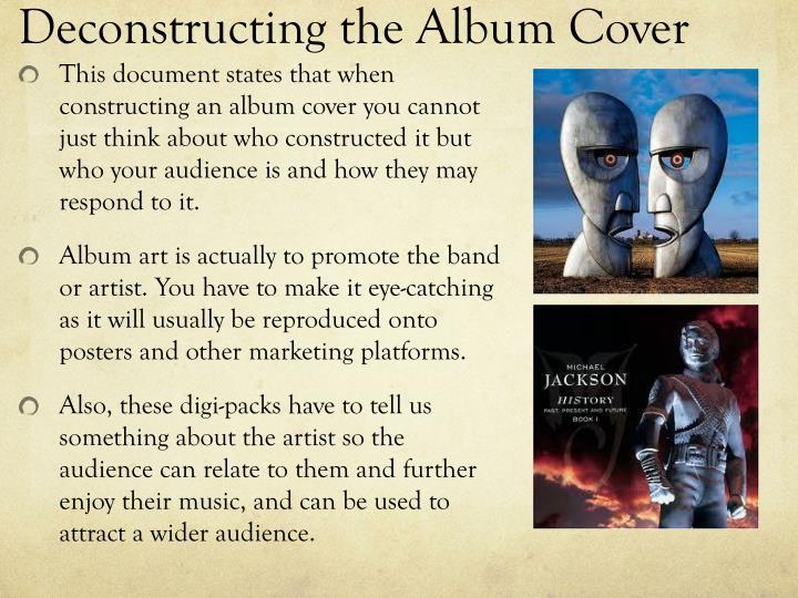 Deconstructing the Album Cover