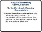 integrated marketing communications1