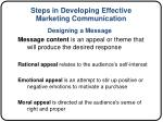 steps in developing effective marketing communication4