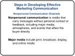 steps in developing effective marketing communication8