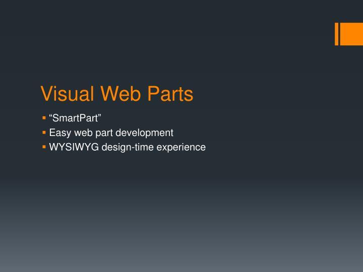 Visual Web Parts