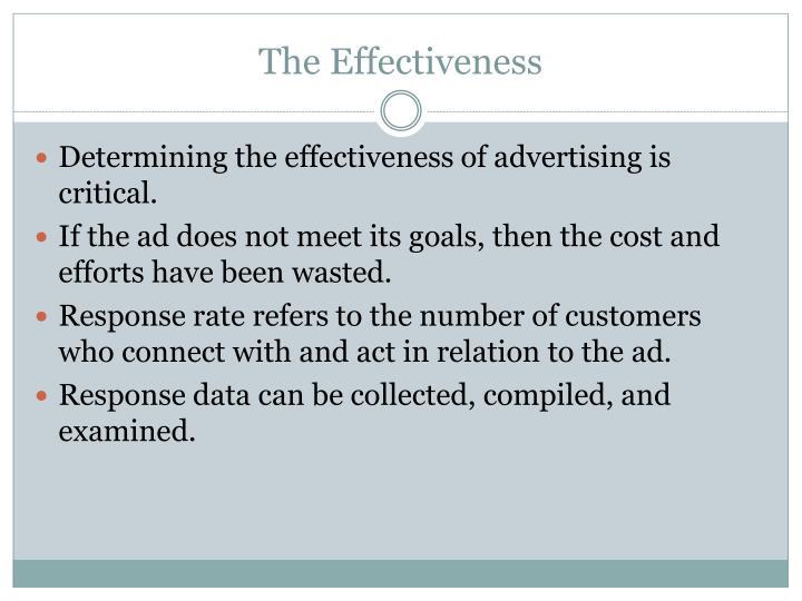 The Effectiveness