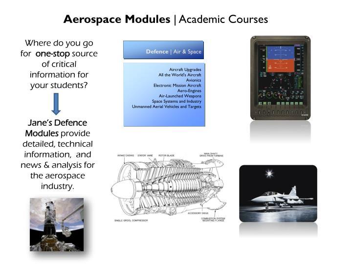 Aerospace Modules