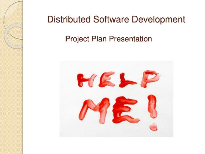 Distributed Software Development