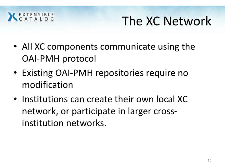 The XC Network
