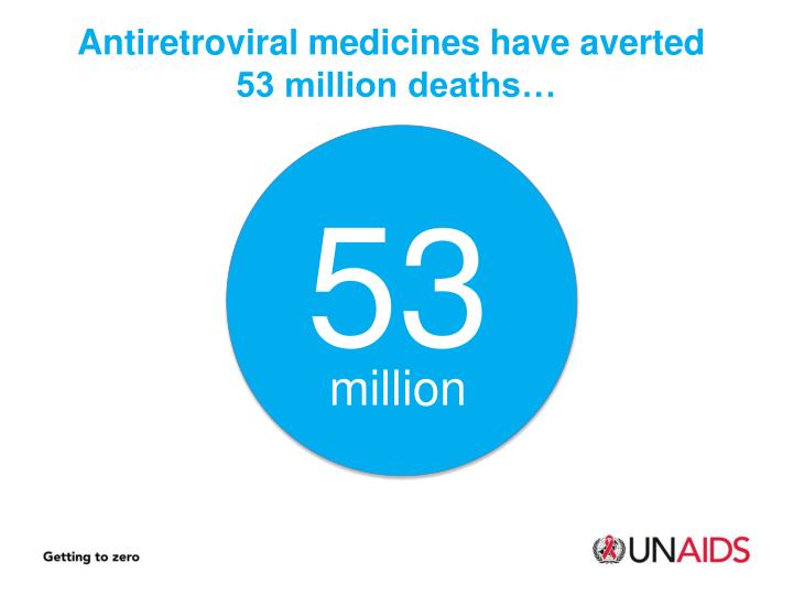 Antiretroviral medicines have