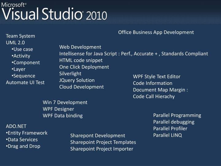 Office Business App Development