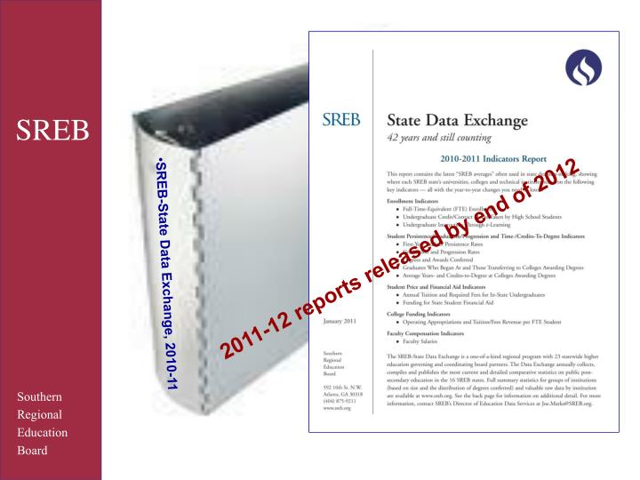 2011-12 reports released by end of 2012
