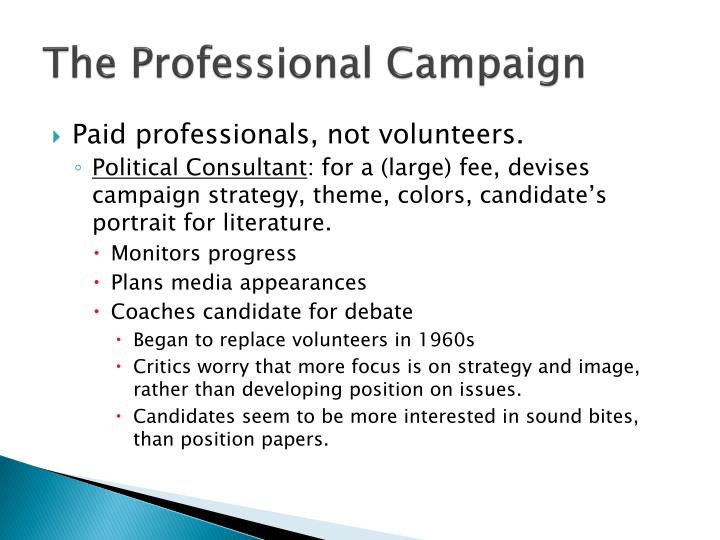 The Professional Campaign