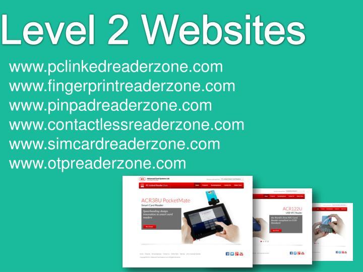 Level 2 Websites