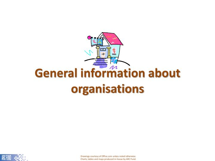 General information about