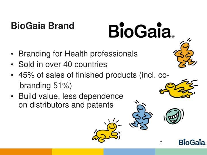 BioGaia Brand