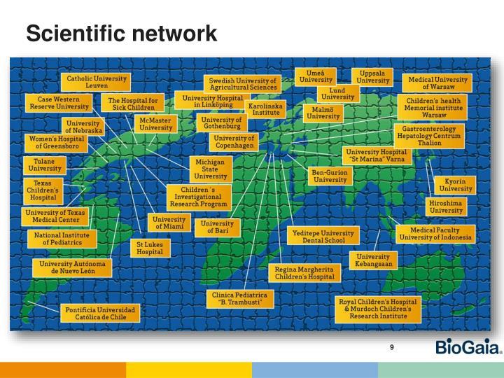 Scientific network