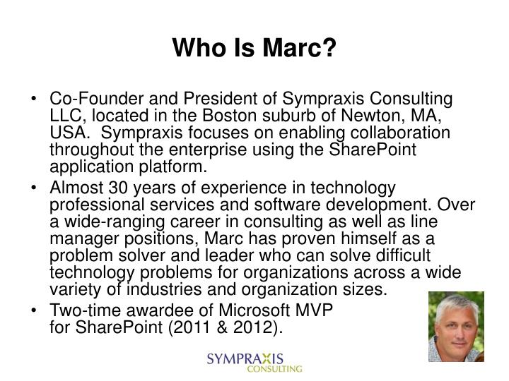 Who is marc