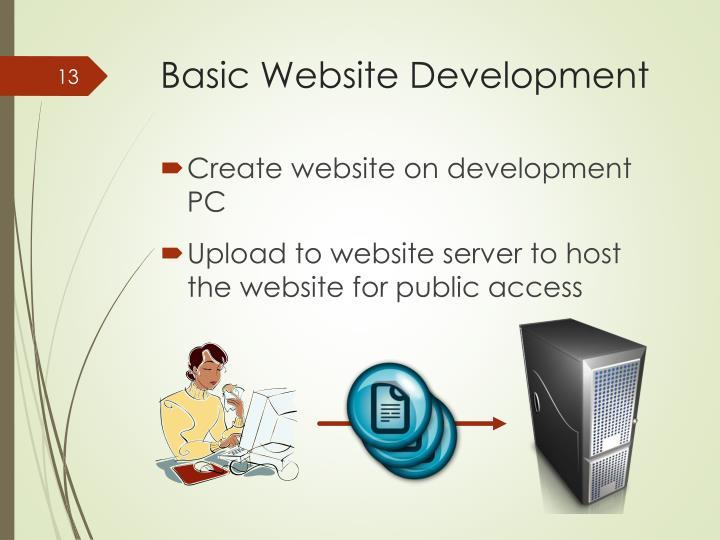 Basic Website Development