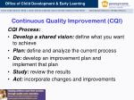 continuous quality improvement cqi