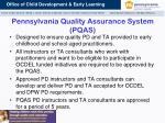 pennsylvania quality assurance system pqas