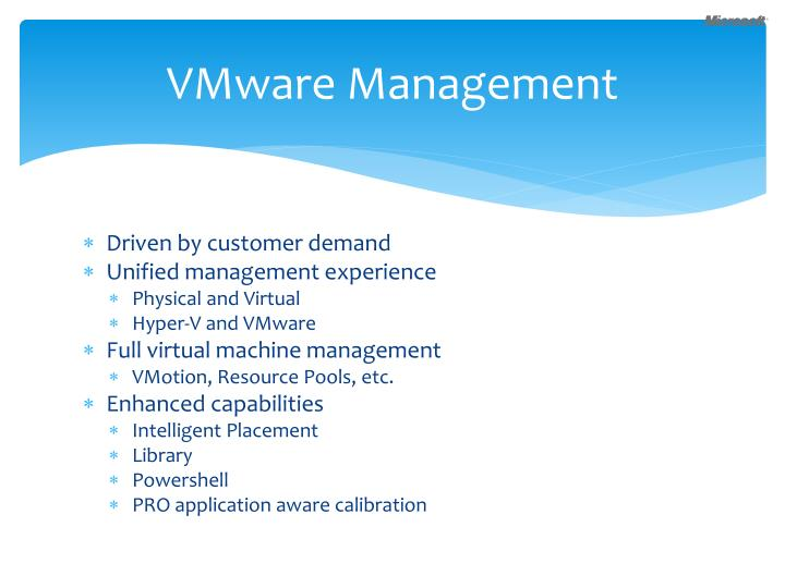 VMware Management