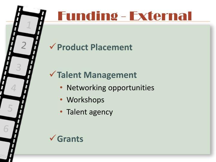 Funding - External