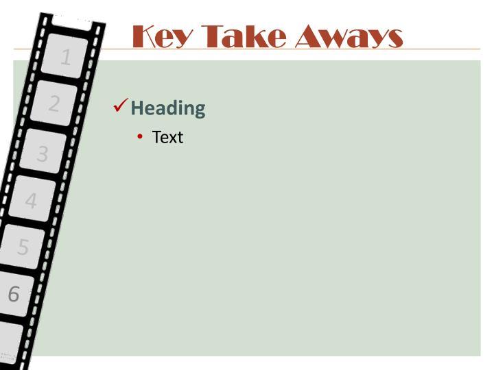 Key Take