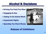 alcohol decisions
