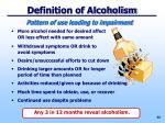 definition of alcoholism