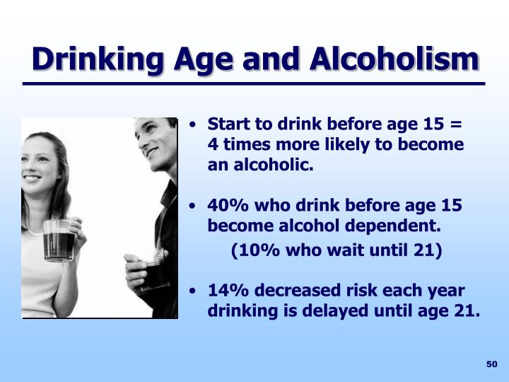 Drinking Age and Alcoholism