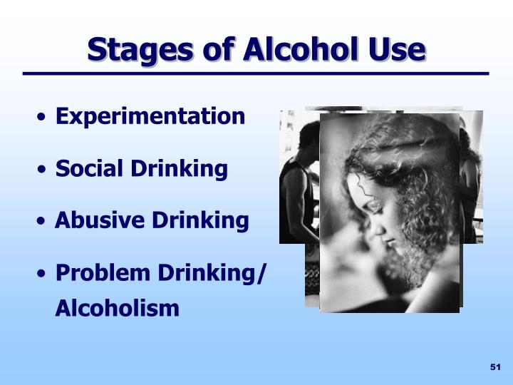Stages of Alcohol Use