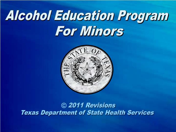 Alcohol Education Program